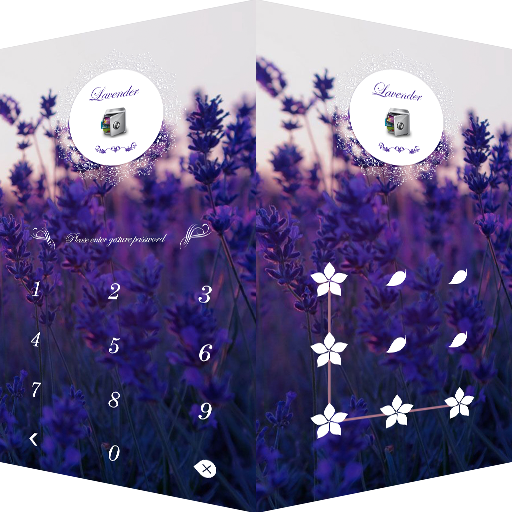 AppLock Theme Lavender