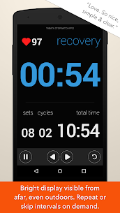 Tabata Stopwatch Pro – Tabata Timer and HIIT Timer v1.7.3 [Unlocked] APK 2
