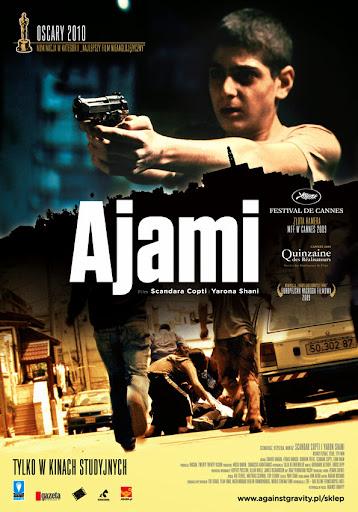 Polski plakat filmu 'Ajami'