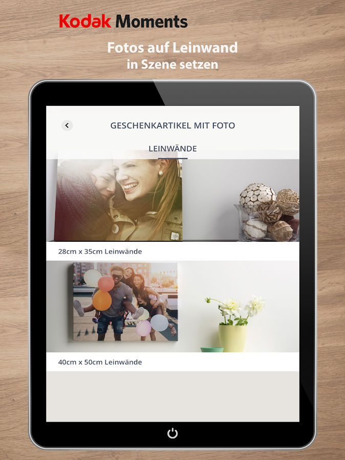 KODAK MOMENTS: Photos drucken – Screenshot
