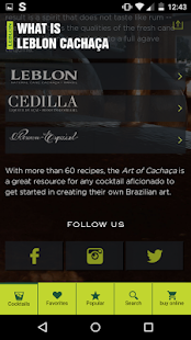 Leblon Cachaça- screenshot thumbnail