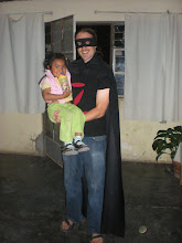 Photo: Me (as Zorro) and Antonella.
