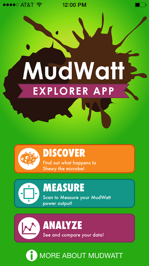 MudWatt Explorer- screenshot