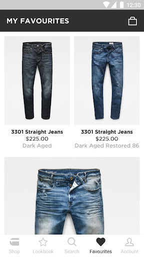 0c1013067bf ... Screenshot for G-Star RAW – Official app in United States Play Store ...