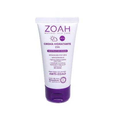 crema facial zoah hidratante anti edad spf15 50ml