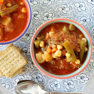 Easiest Beef Vegetable Soup