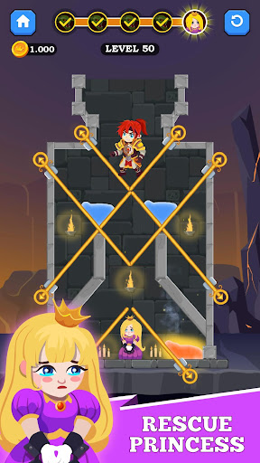 Hero Rescue - Unique Puzzle 1.0.6 screenshots 3