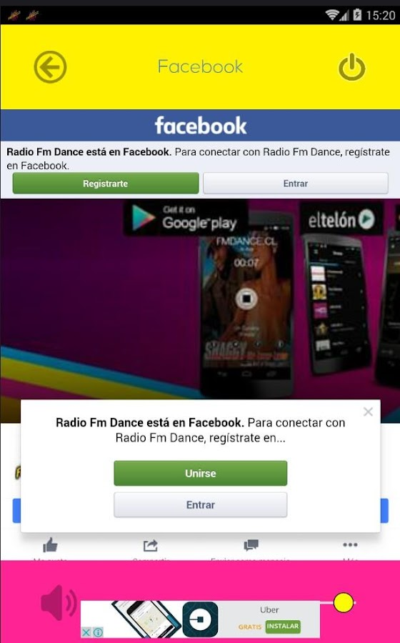 Radio Fm Dance- screenshot