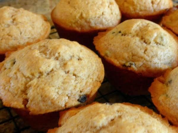 Cinnamon Raisin Muffins (with Honey) Recipe