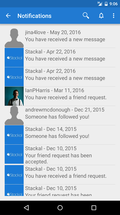 Stackal - Socially Fun & Easy- screenshot