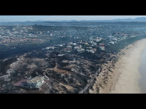 The aftermath of the Knysna fires. File photo.
