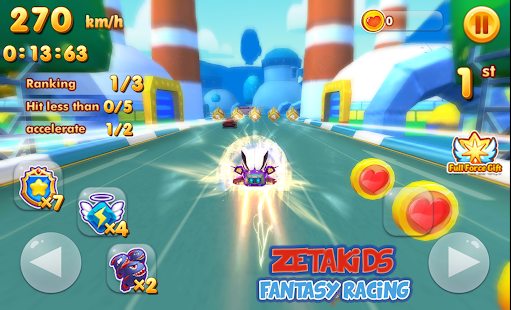 ZetaKids - Fantasy Racing Adventure | Robot Fun 3D for PC-Windows 7,8,10 and Mac apk screenshot 7