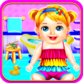 Babysitter Care Baby Game for Girls