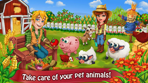 Farm Day Village Farming: Offline Games modavailable screenshots 2