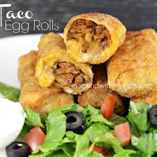 Taco Egg Rolls!