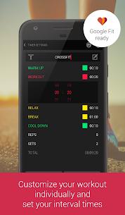 Tabata Interval HIIT Timer 4.67 MOD + APK + DATA Download 2