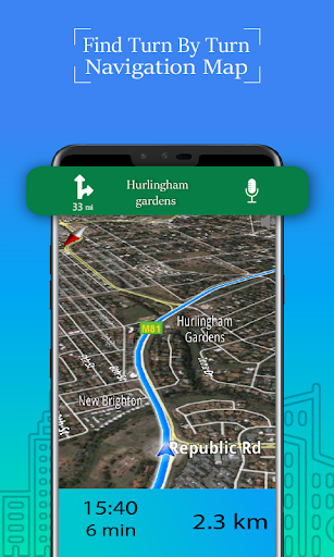 Voice GPS Driving Route : Gps Navigation & Maps screenshot 4