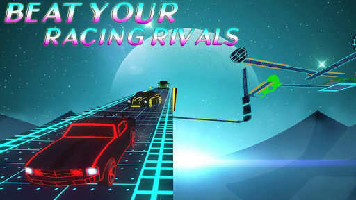 GT Racing Stunts: Car Driving (Neon) - screenshot