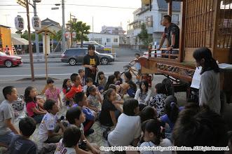Photo: 【平成23年(2011) 宵々宮】  夕刻より囃子連の総仕上げの稽古が始まる。