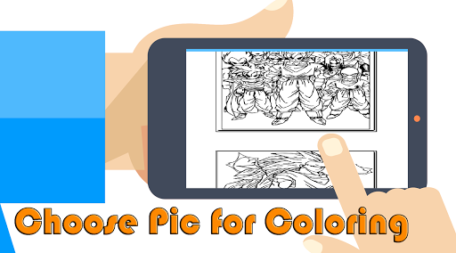 Super Saiyan DBZ Coloring Book App Apk Free Download For Android PC Windows