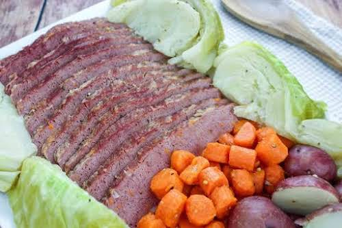 """Corned Beef & Cabbage Dinner""""This corned beef and cabbage recipe is the..."""