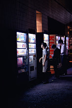 Photo: Decisions, decisions  Tokyo's ubiquitous vending machines offer a myriad of choices -, even the act of choosing something to drink can sometimes give one a moment to pause.  #Tokyo   #Japan   #Streetphotography