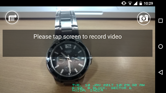 Video Timestamp- screenshot thumbnail