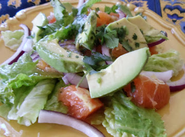 Avocado Citrus Salad Recipe