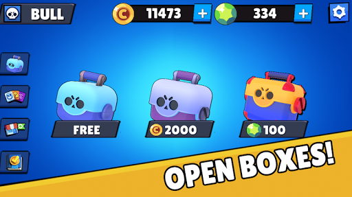 Box Simulator for Brawl Stars: Open Safes!  captures d'écran 1