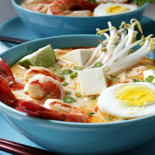 Gluten-Free Coconut Curry Laksa