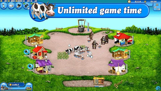Farm Frenzy Free: Time management game Mod 1.2.80 Apk [Unlimited Money] 1