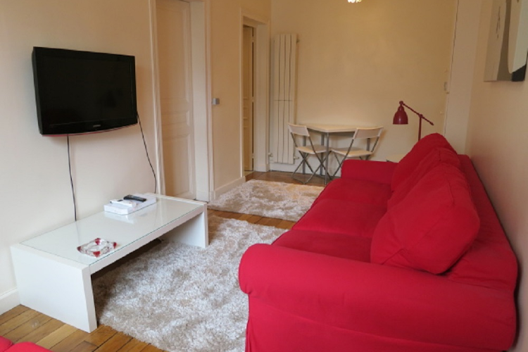 Living room at 1 bedroom Apartment in Saint Germain