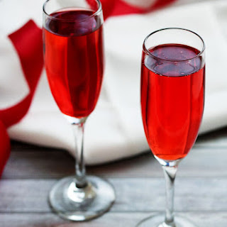 Champagne And Grenadine Drinks Recipes.