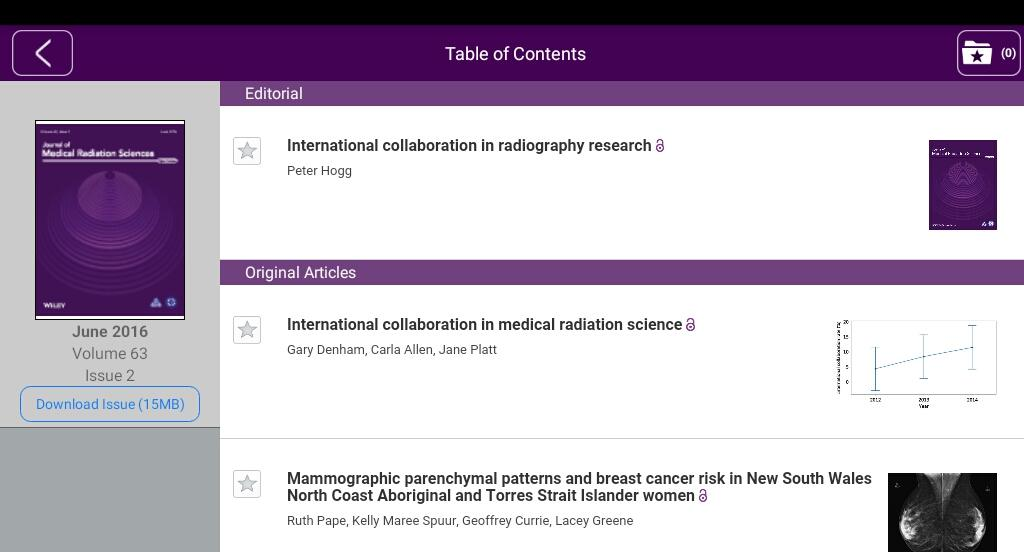 Jnl of Medical Radiation Sci- screenshot