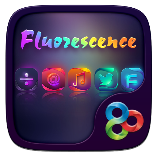 Fluorescence GO Launcher Theme