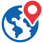 Earth Map Live : GPS Navigation & Tracking Guide Icon
