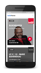 Radio France : actu, culture, musiques en direct Capture d'écran
