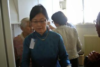 """Photo: Nhu Hoa en """"ao dai"""""""