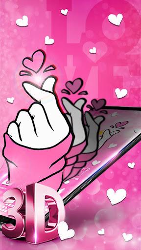 Glamorous Pink Love Sign screenshots 2