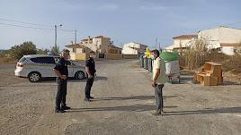 Policía Local de Huércal-Overa.