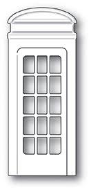 Poppystamps Die - Cute Phone Booth