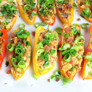 Cheesy Ranch Stuffed Mini Peppers.