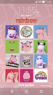 Rainbow Lock Screen - náhled