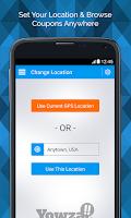 Screenshot of Yowza!! Mobile Coupons
