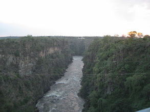 Photo: gorge below falls