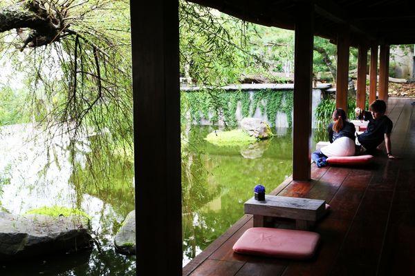 又見一炊煙~日式禪風的景觀餐廳 @ 懶豬部落格