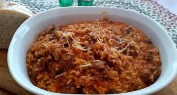 ~ My Favorite Sausage & Rice Dish ~