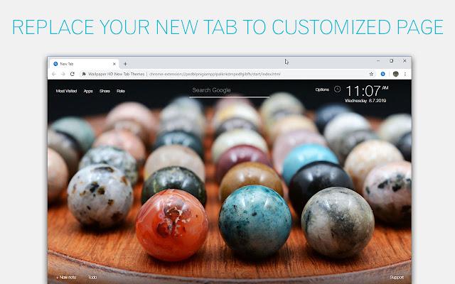 Marble Wallpaper HD Custom New Tab