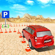 4x4 Prado Offroad Jeep Driving: Parking Games