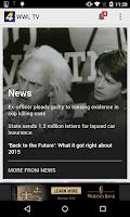 Screenshot of WWL-TV New Orleans News